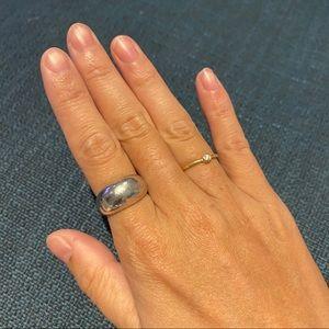 Mejuri silver Dôme Ring - Size 6